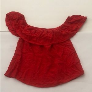 Style Envy off the shoulder red top